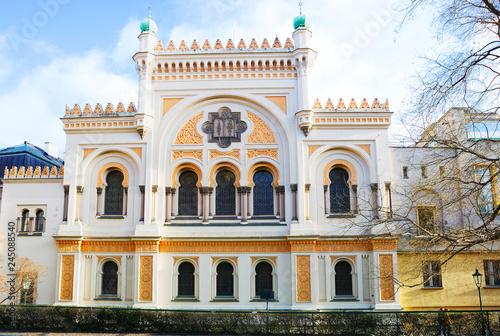 Fotografia Prague, Czech Republic Spanish synagogue