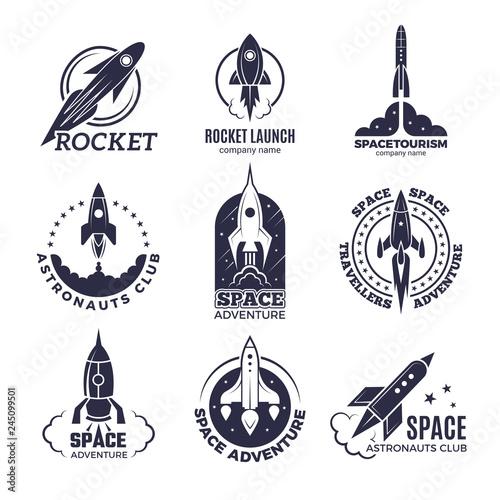 Stampa su Tela Space logotypes
