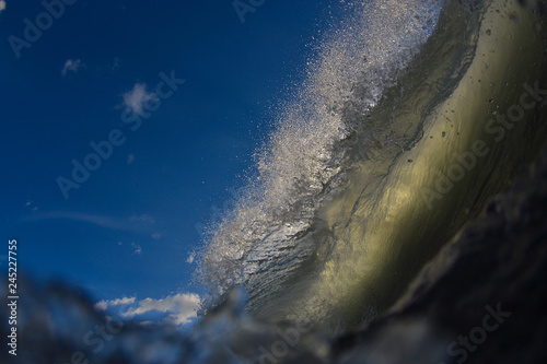 Fotografie, Obraz vague tahitienne