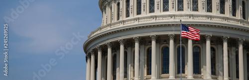 US Capitol 16 (Banner) Fototapet