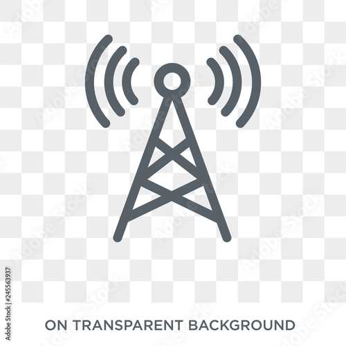 Fotografering Radio antenna icon