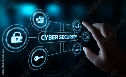 Canvastavla Cyber Security Data Protection Business Technology Privacy concept