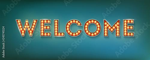 Fotografia Welcome