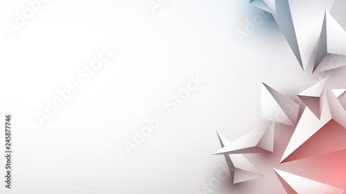 piramidy 3d tło wektor