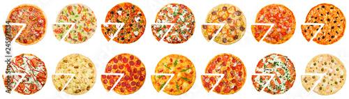 Fotografie, Obraz Hot pizza delivery concept