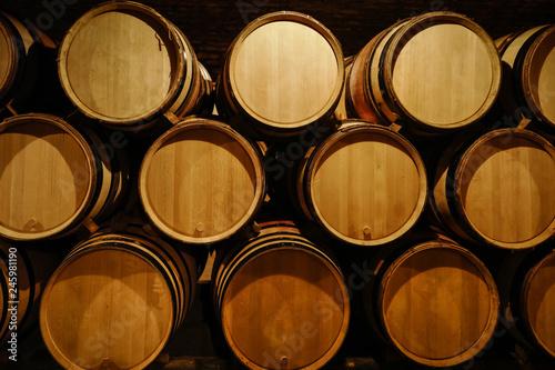 élevage du vin en futs Fototapet