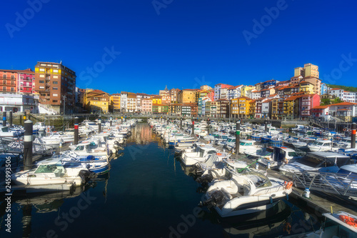 Bermeo port in Basque Country