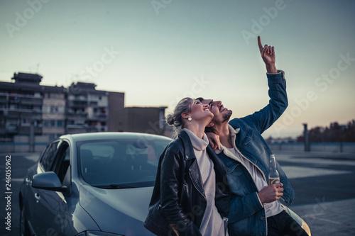 Cherish the magical moments together Fototapeta