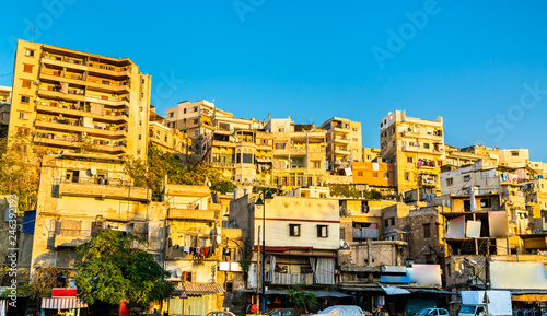 View of Tripoli, the second-largest city in Lebanon