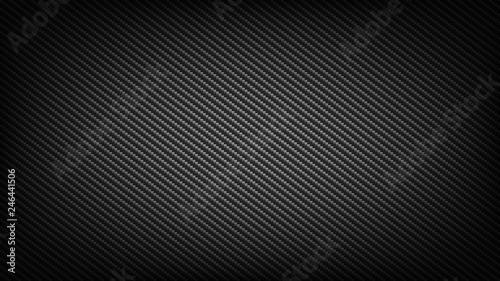Leinwand Poster Carbon fibre backdrop