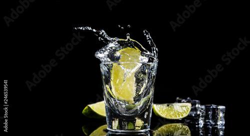 Mexican tequila splash