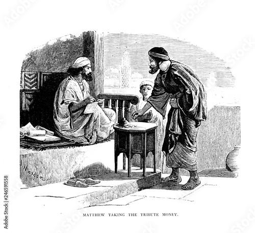 Apostle Matthew. Tax collector Fototapeta