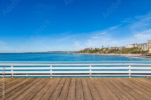 Obraz na płótnie A View from San Clemente Pier, Southern California