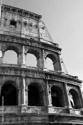Fotografia colosseum in rome italy
