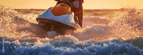 Fotografia water sports in Goa India