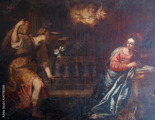 Fototapeta The Annunciation