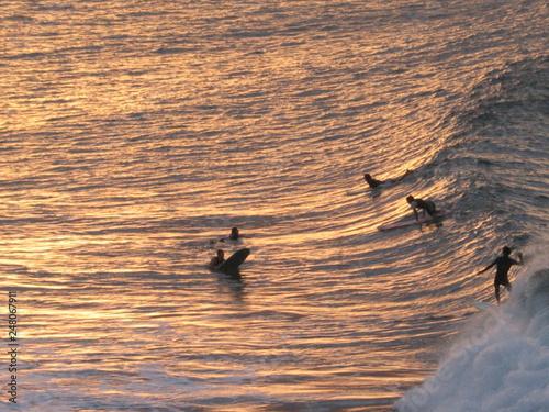 Fototapeta Surf Beach in Byron Bay. Australia