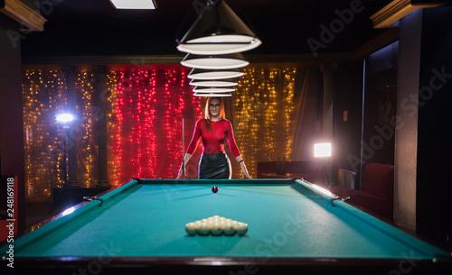 Obraz na płótnie Billiard club