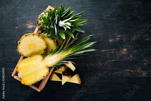 Pineapple Fototapeta