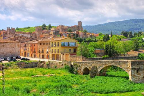 Montblanc, Provinz Tarragona, Katalonien in Spanien - Montblanc, province Tarragona, Catalonia