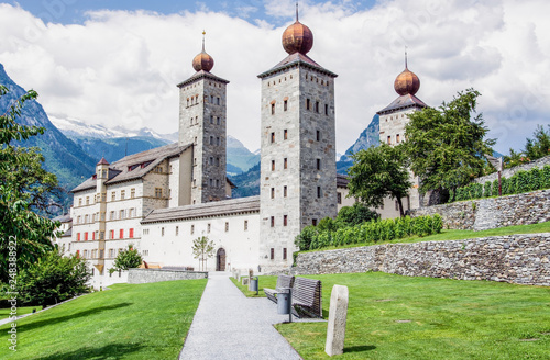Canvas-taulu Stockalperschloss, Brig, Schweiz