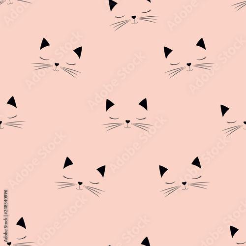scandinavian cat pattern