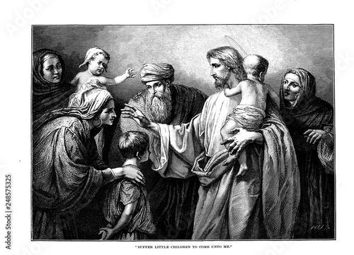Valokuva Illustration on religious subject.