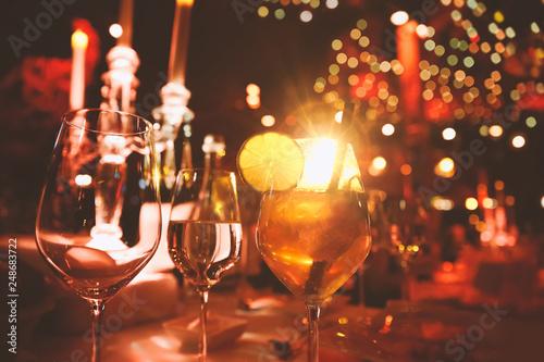 Tablou Canvas Cabaret Cocktail Event