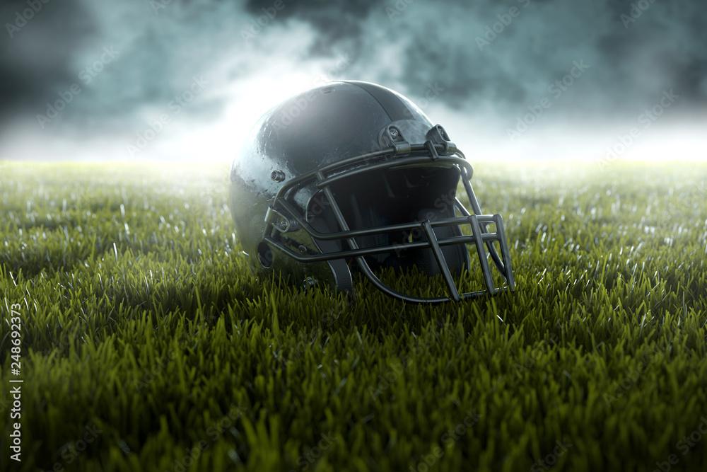 Hełm futbolu amerykańskiego <span>plik: #248692373 | autor: lassedesignen</span>