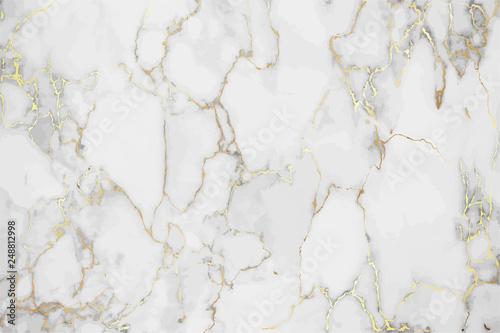 Fototapeta Luksusowe marmurowe tło ze złotym wzorem tekstury