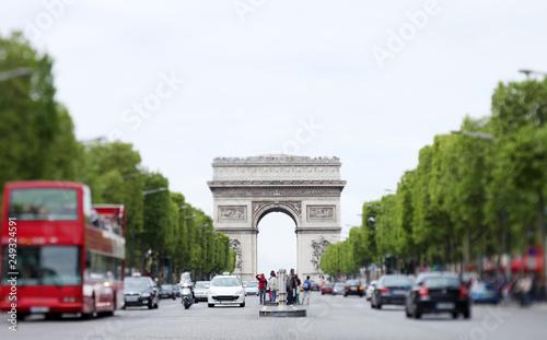 Photographie Avenue des Champs-Élysées