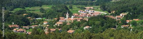 Valley in Ruiloba, Cantabria