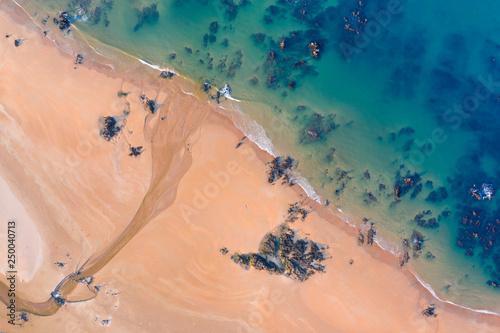 Trengandin beach, Noja, Marismas de Santoña, Noja y Joyel Natural Park, Cantabrian Sea, Cantabria, Spain, Europe