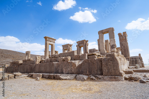 Cuadros en Lienzo Ruins of Ancient City Persepolis or Takht-e-Jamshid, Capital of the Achaemenid P