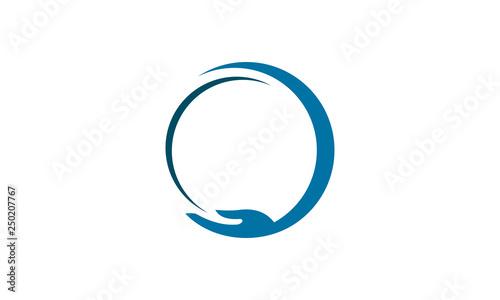 Slika na platnu circle hand care