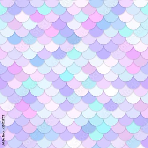 Canvas Print Multicolor backdrop with rainbow scales