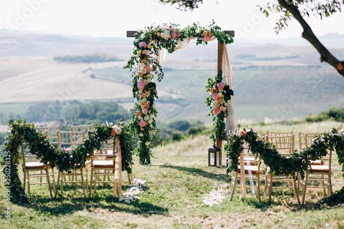 Photo Italian wedding decoration