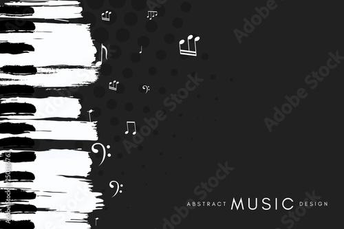 Cuadros en Lienzo Piano concert poster