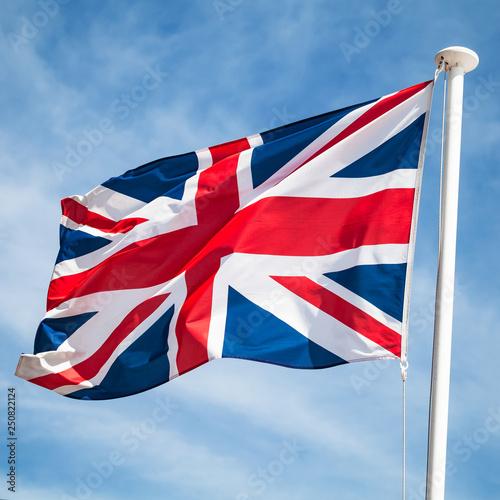 Obraz na płótnie United Kingdom or Union Jack flag