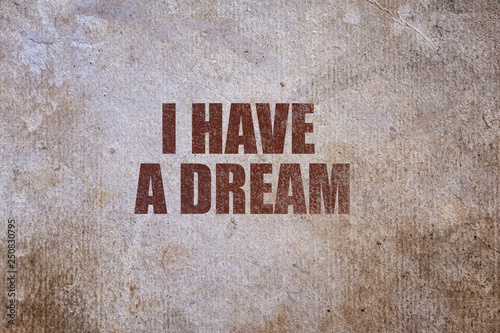 Wallpaper Mural Martin luther king day. I have a dream