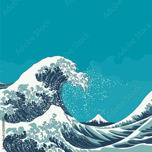 Slika na platnu The Great Wave Off Kanagawa