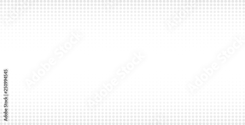 Halftone white & grey background. Dotted abstract vector illustration on white isolated background. Dots background business concept.