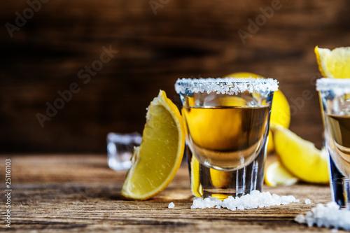 Obraz na plátně Mexican alcohol drink Tequila