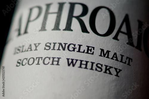 Obraz na plátne Single Malt Scotch Whisky from Islay
