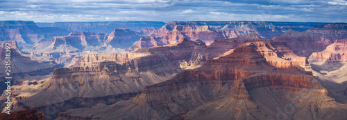 Photo Grand Canyon aerial view.