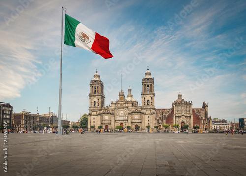 Zocalo Square and Mexico City Cathedral - Mexico City, Mexico