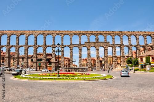 Valokuvatapetti Aqueduct of Segovia, Spain