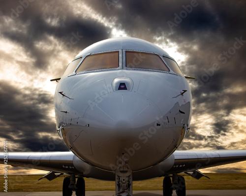 Fotografie, Tablou Bombardier Global