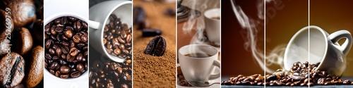 Slika na platnu Collage of coffee