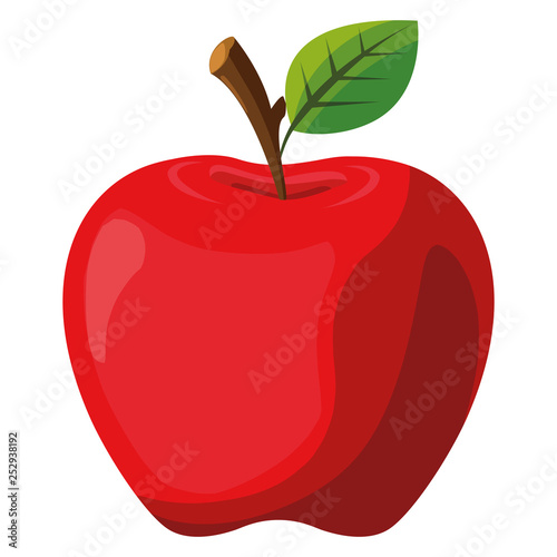 Canvastavla apple fruit design